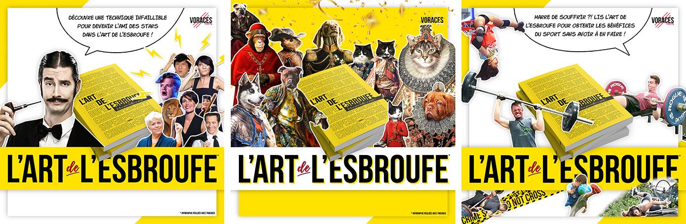 Présentation livre L'art de l'esbroufe : le livre pour briller en société !